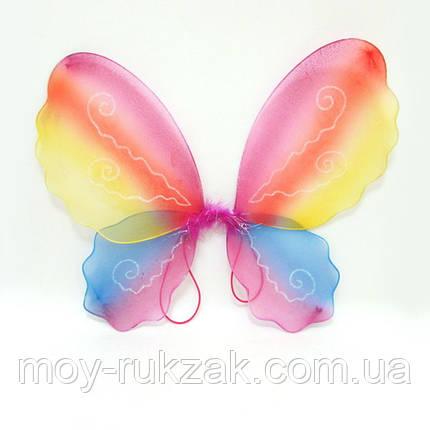 """Крылья """"Бабочка разноцветная"""" , фото 2"""