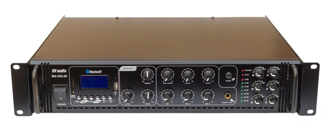 Трансляційний мікшер-підсилювач з USB DV audio MA-350.6 P