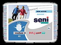 Впитывающие трусы-подгузники для взрослых SENI Active 2 MEDIUM 10шт. Air
