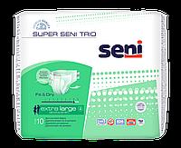 Подгузники для взрослых SUPER SENI Trio EXTRA 4 LARGE 10шт. Air