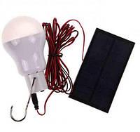 Лампа аккумуляторная с солнечной панелью, фото 1