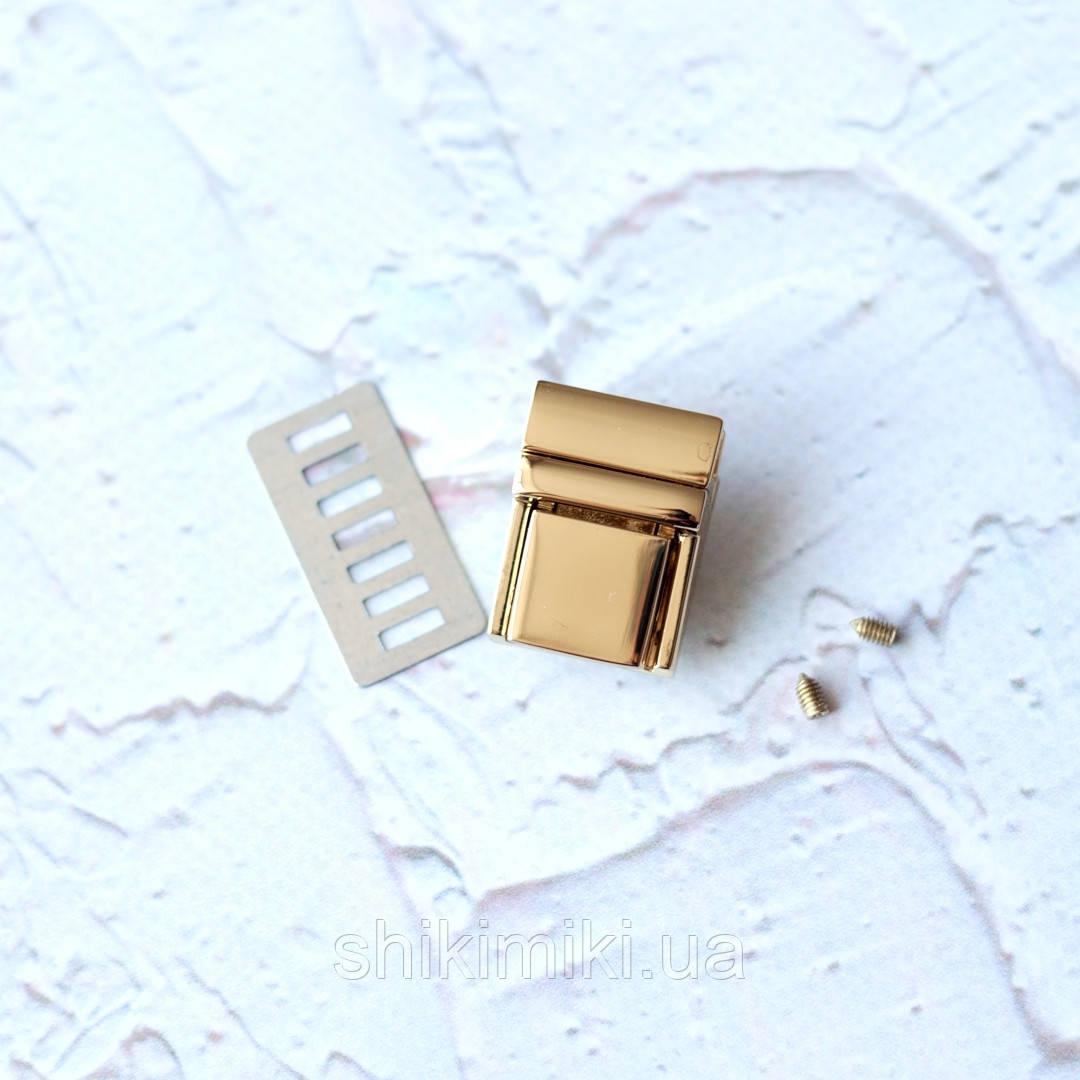 Замок-mini   ZM12-3,цвет золото