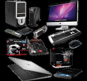 Ноутбуки, планшеты, настольные компьютеры и комплектующие