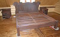 Кровать под старину для бани