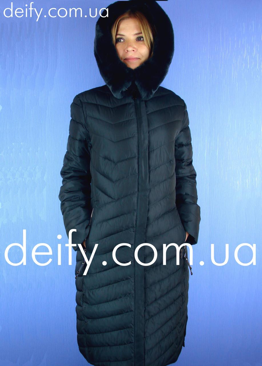 8bdfbd580 Пальто женское зимнее длинное Qarlevar 926 (Размер: 48-58) пуховик Mishele,  Hailuozi, Svidni, Clasna, Towmy