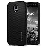 Чехол Spigen для Samsung J5 (2017) Liquid Air, Black (584cs21802)