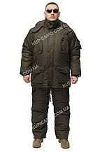 Теплый зимний костюм для рыбаков и охотников  -30