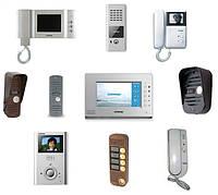 Видеодомофоны, вызывная панель домофона, монтаж домофонных систем