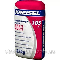 Клейова суміш для керамограніта Крайзель (Kreisel) 105, 25 кг