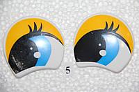 Глазки рисованные,  52*52 мм. №5