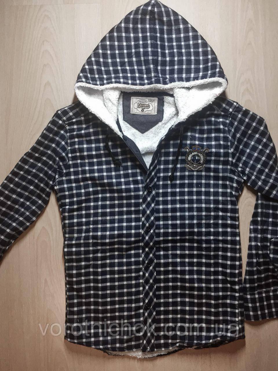 Детская рубашка 9- 12 лет