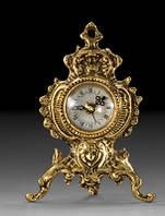 Изысканный часы из бронзы, в гостиную