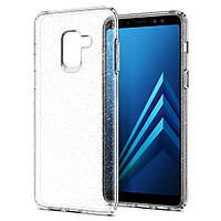 Чехол Spigen для Samsung A8 (2018) Liquid Crystal Glitter (590CS22749), фото 1