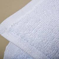 Полотенце махровое для лица и рук, классическое белое, 50х90см.