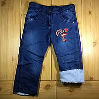 9a64405e4210c5a Детский теплые джинсы на травке для девочки рр. 98-116 Beebaby (Бибеби)