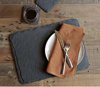 Блюдо, поднос, тарелка 32х22 сланцевая посуда