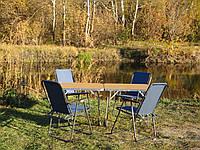 """Мебель для пикника и отдыха, туризма и кемпинга, раскладная """"Комфорт O2+4"""" (2 стола с чехлами и 4 кресла)"""
