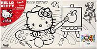 Холст для рисования (15х30) + краски KITE 2014 Hello Kitty 215