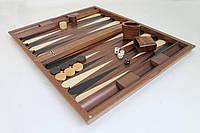 Деревянный набор для игры в нарды - 61x50 см