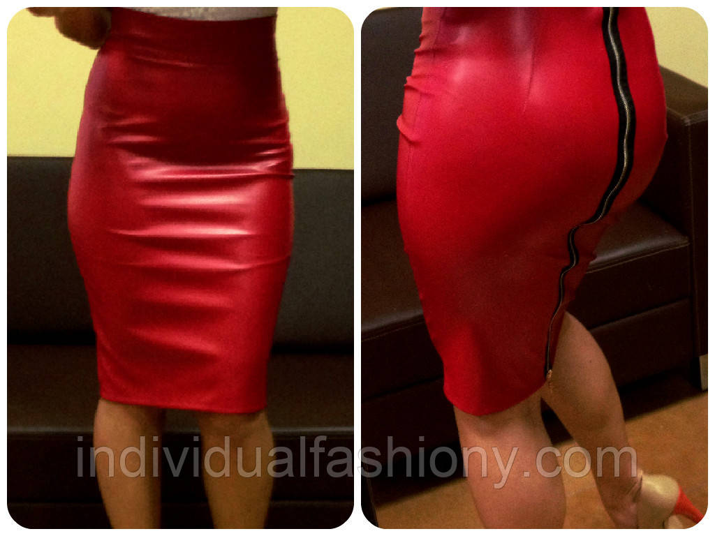 Цена фото кожаная юбка