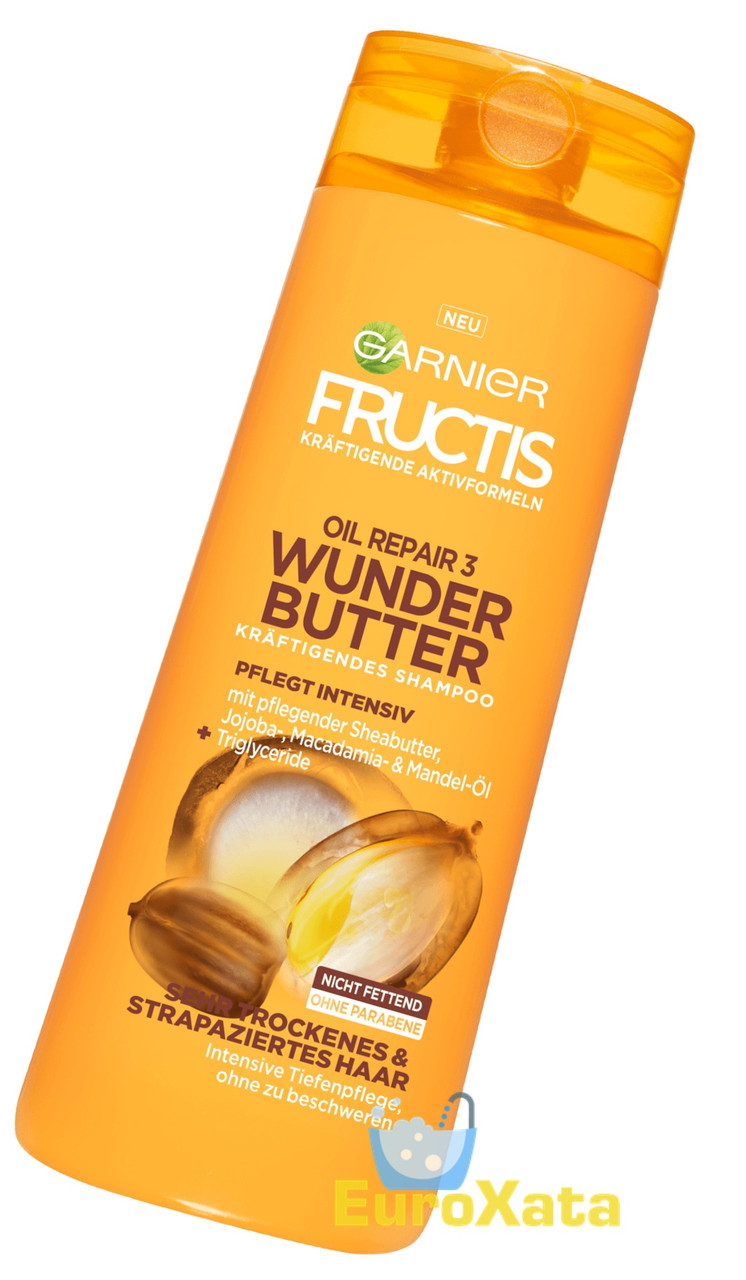 Шампунь Garnier Fructis Shampoo Oil Repair 3 Wunder-Butter (300 мл) Германия