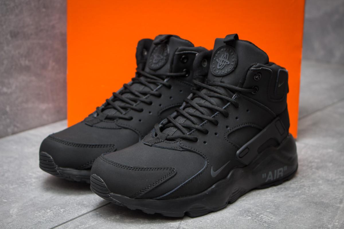 7552595f Зимние Ботинки в Стиле Nike Air, Черные (30291), [ 42 43 ] — в ...