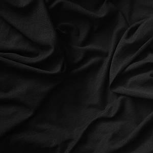 Ткань кулир стрейч черный