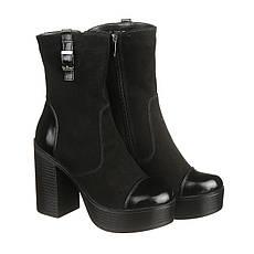 VM-Villomi Замшевые ботинки на платформе и каблуке