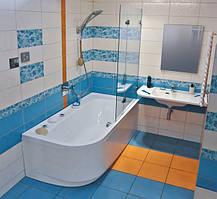 Ванна акриловая Ravak Praktik 175х85 правосторонняя, фото 2
