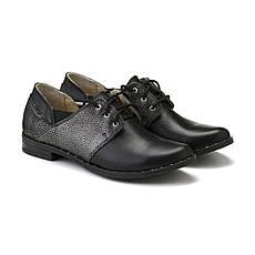 VM-Villomi Кожаные туфли черного цвета