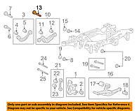 Болт M14 заднего рычага развальный (с эксцентриком) GM 13251096 OPEL Insignia & Cadillac XTS & Buick Regal