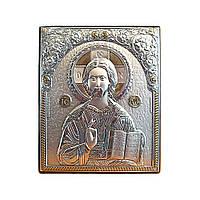 Икона Иисус Вседержитель на деревянной основе Гранд Презент 1059
