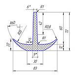 Резиновый уплотнитель для автомобильных весов, фото 4