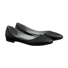 VM-Villomi Кожаные балетки черного цвета