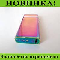 Зажигалка электроимпульсная USB 612 хамелеон!Розница и Опт, фото 1