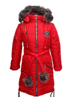 Зимняя куртка-парка Париж для девочки 6-10 лет, фото 1