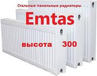 Стальной панельный радиатор ( 22-тип 300х600 ) EMTAS ( Турция )