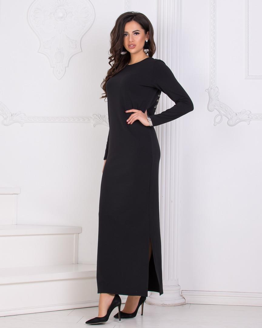 86b37f58908 Теплое платье-макси в пол  продажа