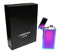 Электроимпульсная USB зажигалка Lighter 612, фото 1