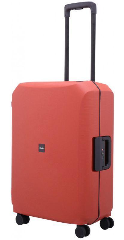 Средний пластиковый чемодан Lojel VOJA Lj-PP12M_R 66 л, красный