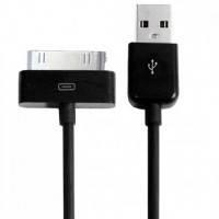 USB дата кабель для Iphone 2g 3g 4 4s, Ipod, черный