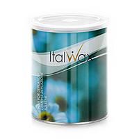 Теплый воск для депиляции в банке ItalWax Azulene, 800 мл - ромашка (азулен)