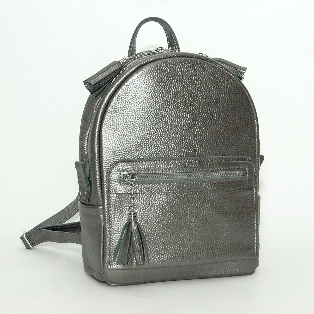 Рюкзак кожаный модель 02 никель флотар