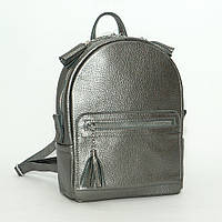 Рюкзак кожаный модель 02 никель флотар, фото 1