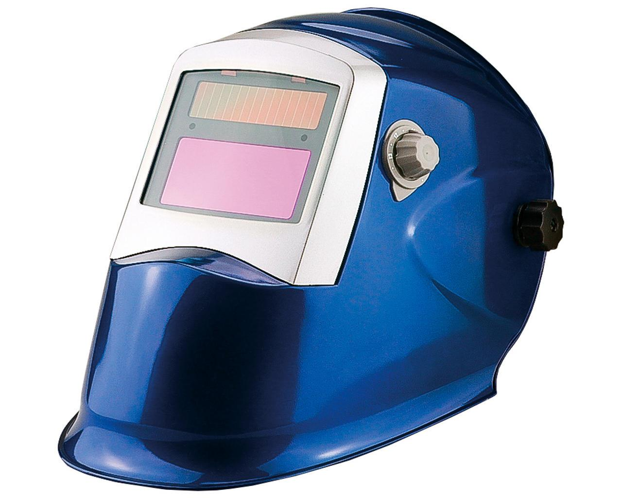 Сварочная маска Apache Rapid Crystals синяя