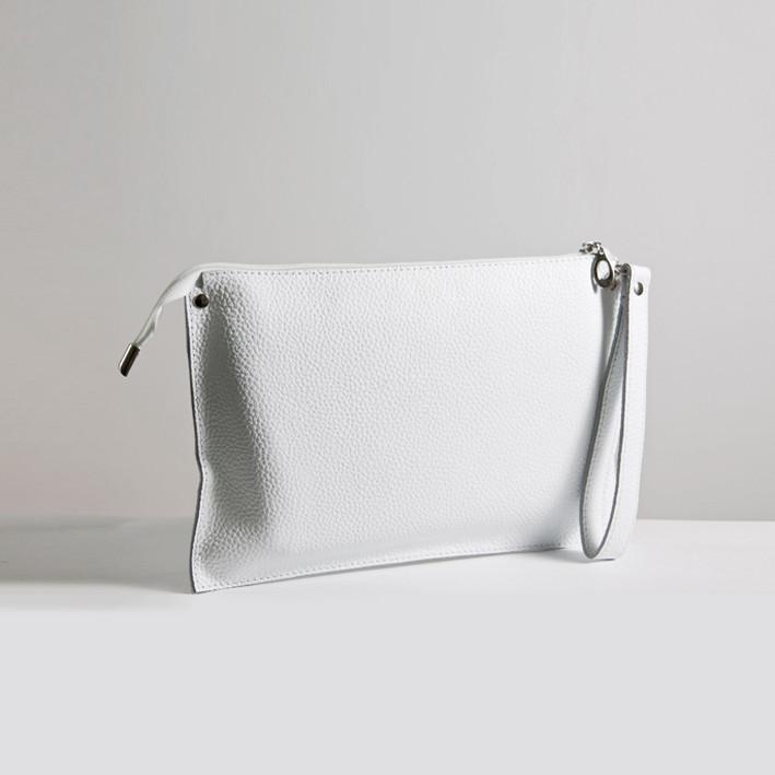 Кожаная сумка  клатч модель 7 флотар