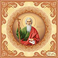 Схема для вышивания бисером Tela Artis Святой Апостол Андрей Первозванный ТИС-021