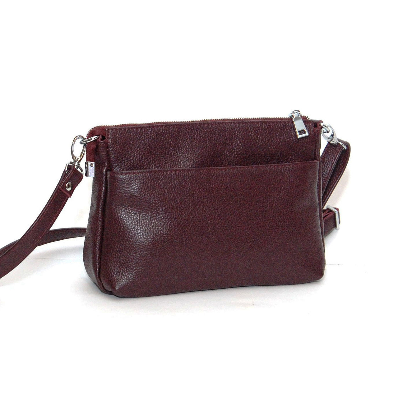 Кожаная сумка модель 35 виноградный флотар