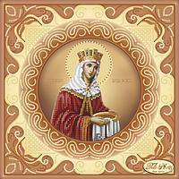 Схема для вышивания бисером Tela Artis Святая Равноапостольная Царица Елена ТИС-022