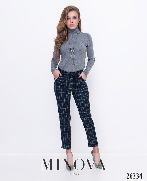 Стильные брюки с высокой талией на молнии с застежкой  размер 42,44,46,48